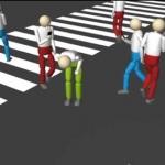 ドコモのシミュレーション動画「全員歩きスマホin渋谷スクランブル交差点」
