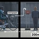 オチに思わず脱帽「世界最速の新聞配達」