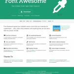 それこそAwesomeなアイコンウェブフォント「Font Awesome」