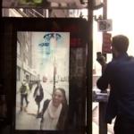 ペプシのプロモーション アンビリーバブルなバス停