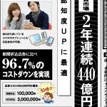 新聞そっくりのバナー 広告運営会社の記事広告