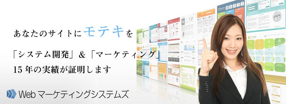 集客できるシステム開発であなたのサイトにモテキを